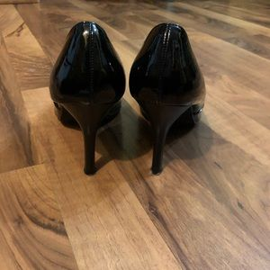 Rampage Shoes - Rampage Black Patent Leather Pointy Toes Heels